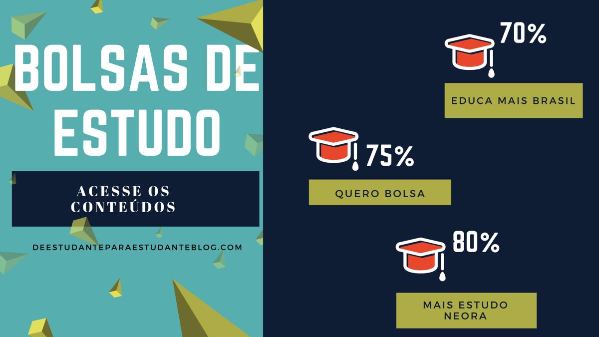 JÁ DECIDI O CURSO: COMO INGRESSAR? (QUERO BOLSA | EDUCA MAIS BRASIL | MAIS ESTUDONEORA)